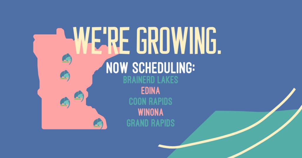 Website Banner We're Growing
